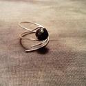 Védelmező hematit gyűrű, Ékszer, óra, Gyűrű, Ékszerkészítés, Védelmező gyűrűk. Hematittal, ami erős, bátor, biztonságot, stabilitást ad.  6 vagy 8mm-es ásványgy..., Meska