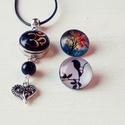 OM amulett - cserélhető patentos ékszer, Ékszer, Nyaklánc, Igazi különlegesség, cserélhető patentos nyaklánc, bőrön.  Akár minden nap más ékszered l..., Meska