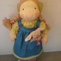 Húsvéti baba, Természetes alapanyagokból készült kb. 40 cm m...