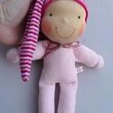 Minimanó- rózsaszín, Vidám, puha plüssből készült saját tervezés...