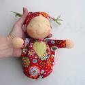 Mini alvó bébi- piros, Baba-mama-gyerek, Játék, Baba, babaház, Baba játék, Kedves, pihe-puha alvó babóca (a kedvencem : ) A 28 cm magas alvó babám kicsinyített mása. Ő mindöss..., Meska