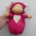Mini alvó bébi- pink, Baba-mama-gyerek, Játék, Baba, babaház, Baba játék, Kedves, pihe-puha alvó babóca (a kedvencem : ) A 28 cm magas alvó babám kicsinyített mása. Ő mindöss..., Meska