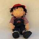 Niki- öltöztethető Waldorf  fiú baba , Gyerek & játék, Játék, Baba, babaház, Természetes alapanyagokból készült kb. 36 cm magas Waldorf jellegű baba.  Gyapjúval töltött. Haja ho..., Meska