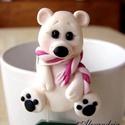 Jegesmedve- teafilter tartó, Kedves kiegészítő teázáshoz. Segít, hogy ne ...