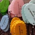 Színes kulcstartók, Süthető gyurmából készült kulcstartók miklo...