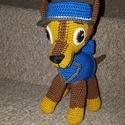 Chase a Mancs őrjáratból, Játék, Játékfigura, Plüssállat, rongyjáték, Horgolás, Hímzés, Mancs őrjárat amerikai televíziós 3D-s számítógépes animációs sorozat játékos németjuhász kutyája: ..., Meska