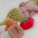 Zöldborsó babagubó - babafotózáshoz (rendelhető), Újszülött fotózáshoz készült ez a babagubó...