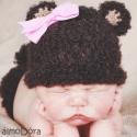 Vackor maci szett - babafotózáshoz (rendelhető), Újszülött fotózáshoz készült ez a pihe-puha...