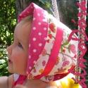 Nyártündér sapKalap - nyári sapka, Ez a kislány kalap-kendő-főkötő, mindenki nev...