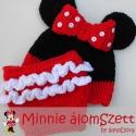 Minnie mouse / Minnie egér szett - babafotózáshoz (rendelhető), Baba-mama-gyerek, Ruha, divat, cipő, Baba-mama kellék, Gyerekruha, Újszülött fotózáshoz készült ez a csinos szett.  Minnie egeres sapiból és egy pelustakaróból áll, am..., Meska