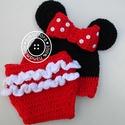 Minnie mouse / Minnie egér szett - babafotózáshoz, Újszülött fotózáshoz készült ez a csinos sz...