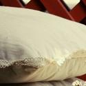 Álomhozó gyapjú kispárna levendulával fűszerezve, Otthon, lakberendezés, Lakástextil, Párna, A gyapjú és a levendula remek páros, pláne ha alszunk rajta! Tapasztalat igazolja, hogy a levend..., Meska