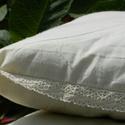Álomhozó Gyapjú kis párna, Otthon, lakberendezés, Lakástextil, Párna, Az Álomhozó Gyapjú kis párna 100% természetes anyagokból készül, szerves eljárásból szár..., Meska