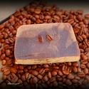 Kávészappan kecsketejjel, Szépségápolás, Szappan, tisztálkodószer, Natúrszappan, Összetétel: olívaolaj, kókuszolaj, napraforgó olaj, kecsketej, kávé, lúg, vanília esszencia Minden b..., Meska