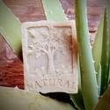 Aloe vera - citromfű szappan szőlőmag olajjal, Szépségápolás, Szappan, tisztálkodószer, Natúrszappan, Összetétel: olívaolaj, kókuszolaj, napraforgó olaj,szőlőmag olaj,  aloe vera gél, citromfű tea, lúg,..., Meska