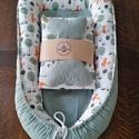 Babafészek termékcsalád 5 részes rókás, 5 részes babafészek termékcsalád újszülötte...