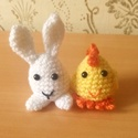 aranyos horgolt tojásnyuszi és tojáscsibe húsvétra, Kedves látogató! Ezen az oldalon a képen látha...