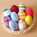 horgolt színes húsvéti tojások, Kedves látogató! Ezen az oldalon a képen látha...