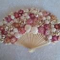 Legyező alakú csokor, Dekoráció, Esküvő, Esküvői csokor, Esküvői dekoráció, Menyasszonyi csokor helyett vagy dekorációnak is használható, szárazvirágokkal és termésekke..., Meska