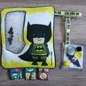 Batman spybag, Baba-mama-gyerek, Játék, Készségfejlesztő játék, Logikai játék, Varrás, Fotó, grafika, rajz, illusztráció, Készségfejlesztő türelemjáték pl utazáshoz.   A spybag fejleszti a szem-kéz koordinációt, a szín és..., Meska