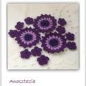 Csillagvirág csokor - Horgolt virágok (Anasztazia) - Meska.hu