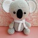 Horgolt koala maci, Koala maci keresi kis barátját. Magassága :13 c...