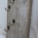 Kulcstartó, praktikus előszoba dekoráció., Otthon, lakberendezés, Mindenmás, Kulcstartó, Falikép, Modern és klasszikus otthonok,szép előszoba dísze lehet ez a fából készült kulcstartó. Mely..., Meska