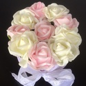 Rózsabox kicsi, Esküvő, Dekoráció, Csokor, Esküvői dekoráció, Virágkötés, A képen látható csodálatos virágbox kiváló választás ünnepi alkalmakra. Lehet csodás esküvői dísz, ..., Meska
