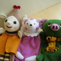 Manócskáék (4 báb egyben) -Rendelhető, Baba-mama-gyerek, Játék, Báb, Készségfejlesztő játék, Baba-és bábkészítés, Varrás,  Kérlek ne rakd őket kosárba. Ők csak mintadarabok.Ha szeretnél hozzájuk hasonlót kérlek írj belső ..., Meska