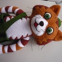 Findusz cica- Asagao77 nevére, Játék, Rendelésre készült cica., Meska