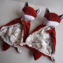 Róka rongyi (2db)- vendeg434218: Sára nevére, A rókák rendelésre készültek.