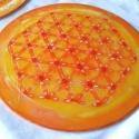 Élet Virága - selyem mandala, Dekoráció, RENDELHETŐ bármilyen színben!  Az Élet Virága az egyik legősibb mandala. A mai napig tökéletesen szi..., Meska