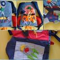 Quiet book Fejlesztő/játszó könyv gyerekeknek űrhajó-táska formában