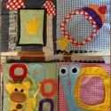 Fotóalbum gyerekeknek, Baba-mama-gyerek, Játék, Baba-mama kellék, Baba játék, Textil fotóalbum kicsgyerekeknek. 10 oldalas 23*23cm oldalméretekkel.  Fotóméretek: 6db 9*13, 6db ig..., Meska