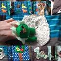 Quiet book/csendes könyv/textil feladatod könyv, Baba-mama-gyerek, Játék, Készségfejlesztő játék, Baba játék, 1. Oldal: magnessel rögzíthető állatkák. Találd meg a helyét. 2. Számolós 3.tojasból kiveh..., Meska