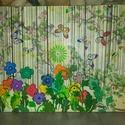 Eső: modern feszített vászon falikép, Képzőművészet, Festmény, Akril, Napi festmény, kép, Mixedmedia technikával készítettem. Keretezést nem igényel. 50X70cm Egyetlen darab készül min..., Meska