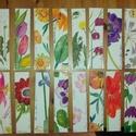 Akvarell könyvjelző virágok-eredeti és egyedi ajándék, Egyéb, Táska, Divat & Szépség, Otthon & lakás, Eredeti akvarell festményeim laminálva Szép. Tartós. Egyedi. Darabja 900Ft. 2 darabnál 10%. 3 vagy t..., Meska