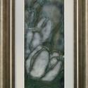Éjjeli tulipánok, Képzőművészet, Dekoráció, Otthon, lakberendezés, Kép, Vörösréz lemezre festőzománc és sgraffito technikával készítettem ezt a tűzzománc képet, mely ízlése..., Meska