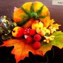 Őszi tál, Parázsló színkavalkád, színes levelek ' a tav...