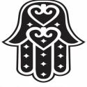 Faltetoválás , falmatrica Fatima keze 55x55 cm, Otthon, lakberendezés, Dekoráció, Falmatrica, Fotó, grafika, rajz, illusztráció, Fatima keze faltetoválás  Az ár a képen látható falmatricát tartalmazza 55x55 cm méretben, ára: 2.6..., Meska
