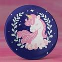 Unikornis hűtőmágnes - kék mágnes - cuki hűtőmágnes - unikornis ajándék - lányos ajándék - cuki rózsaszín unikornis, Férfiaknak, Ékszer, Ékszer, kiegészítő, Bross, kitűző, Unikornis hűtőmágnes - kék mágnes - cuki hűtőmágnes - unikornis ajándék - lányos ajándék - cuki rózs..., Meska