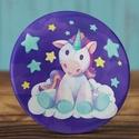 Unikornis mágnes - plüss unikornis hűtőmágnes - unicorn mágnes - játék mágnes - cuki ajándék - csillag - felhő - ló, Dekoráció, Mindenmás, Otthon, lakberendezés, Baba-mama-gyerek, Unikornis mágnes - plüss unikornis hűtőmágnes - unicorn mágnes - játék mágnes - cuki ajándék - csill..., Meska