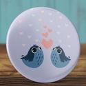 Szeretlek madár mágnes - madaras mágnes - valentin nap - szerelmes ajándék - szeretlek mágnes - kis madár - szív , Dekoráció, Mindenmás, Valentin napra, Otthon, lakberendezés, Szeretlek madár mágnes - madaras mágnes - valentin nap - szerelmes ajándék - szeretlek mágnes - kis ..., Meska