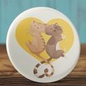 Valentin napi cica tükör  - macska zsebtükör  - szeretlek - szerelmes ajándék - szerelmes pár - cica - rózsaszín, Ékszer, Dekoráció, Mindenmás, Valentin napi cica tükör  - macska zsebtükör  - szeretlek - szerelmes ajándék - szerelmes pár - cica..., Meska