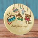 Karácsonyi ajándék kitűző - cuki bross- játék - mackó - karácsony - dísz - vintage - tél - ajándék - retro - hó, Ruha, divat, cipő, Ékszer, Bross, kitűző, Karácsonyi ajándék kitűző - cuki bross- játék - mackó - karácsony - dísz - vintage - tél ..., Meska