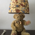 Különleges macis lámpernyő, nagyméretű Akciós áron, Baba-mama-gyerek, Otthon, lakberendezés, Lámpa, Asztali lámpa, Egyedi macis lámpaernyő kedvező áron.  Designer anyagból készült lámpaernyő, Traditional Bear gyűjtő..., Meska