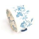 Az új olasz trend, Kék-rózsás valódi bőr karkötő, Ékszer, Karkötő, A karkötő valódi bőrből készült, saját tervezéssel, kivitelezéssel.   Méretek: begombolva..., Meska