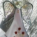ŐrAngyal tulipános, pasztell lila ruhában, Mert mindenkinek van ŐrAngyala! Nagy-nagy szerete...
