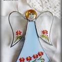 ŐrAngyal virágos ruhában, SZEMÉLYRE SZÓLÓ ŐRANGYAL! Mert mindenkinek van...