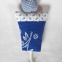 Virágcserép kulcstartó, Mindenmás, Kulcstartó, A virágcserép kulcstartó mérete 8cmx9,5cm. Praktikus, mert a vatelinnel bélelt puha cserépbe v..., Meska